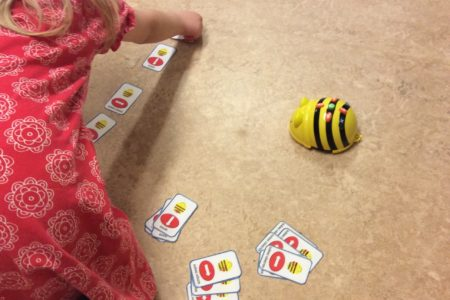 Bee Bot på Britta Lenas förskola