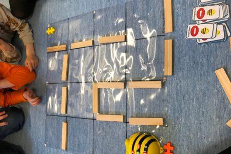 Bee-Bot på Särö förskola